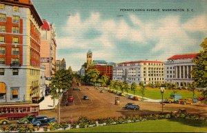 Washington D C Pennsylvania Avenue 1941