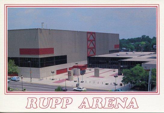 RUPP ARENA - Lexington Kentucky
