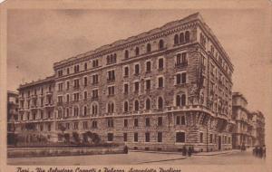 Italy Bari Via Salvatore Cognetti e Palazzo Acquedotto Pugliese