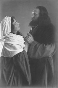 No. 8 Abschied Jesu von Maria, Passionsspiel Oberammergau 1910