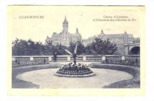 Caisse d'Epargne Et Direction Des Chemins De Fer, Luxembourg, 1900-1910s
