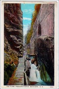 The Flume, Franconia Notch, White Mts NH