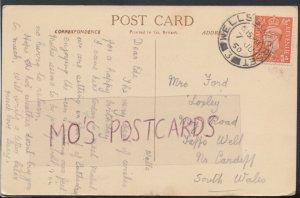 Family History Postcard - Ford - Moy Road, Taffs Well, Nr Cardiff, Wales RF4388