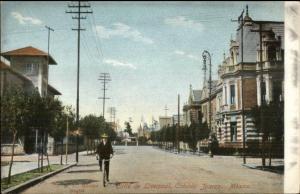 Colonia Juarez Mexico Calle de Liverpool c1905 Postcard