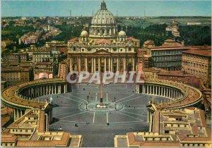 Postcard Modern Roma Place Saint Pierre