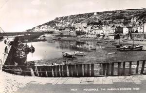 MOUSEHOLE CORNWALL UK THE HARBOUR LOOKING WEST PHOTO POSTCARD