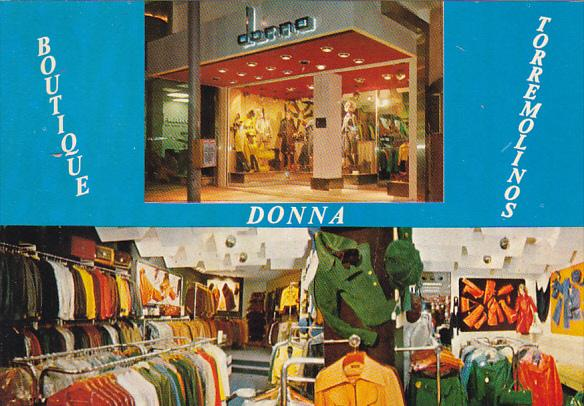 Spain Torremolinos Boutique Donna
