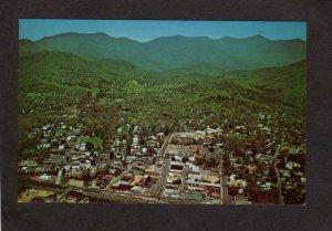 NC Aerial View Black Mountain North Carolina Postcard