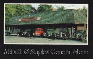 New Hampshire Center Ossipee Abbott & Staples General Store