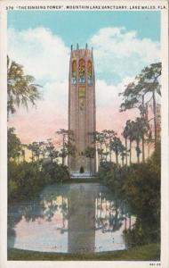 Florida Lake Wales The Singing Tower Mountain Lake Sanctuary Curteich