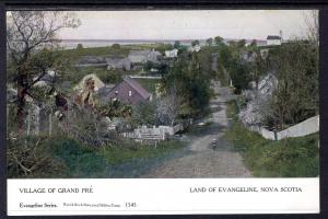 Village of Grand Pre,Land of Evangeline,Nova Scotia,Canada