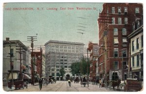 Binghamton, N.Y., Looking East from Washington St.