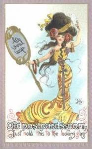 Dwig Postcard Dwiggens Post Card Artist Signed Old Vintage Antique Series 30 ...