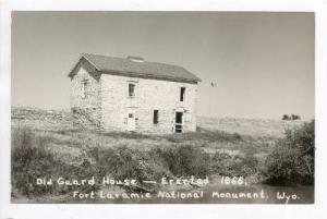 RP: Old Guard House,Fort Laramie,Wyoming,1930-40s