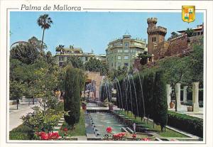Spain Palma de Mallorca Gardens of the S'Hort del Rei