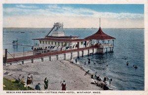 [ ? ] US Massachusetts Winthrop - Beach And Swimming Pool