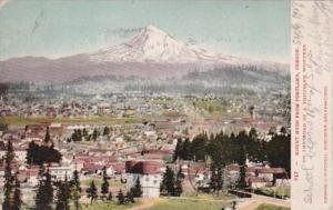 Oregon Portland View Of Mount Hood 1907