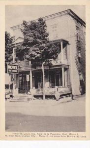 Canada Quebec Ste Anne de la Pocatiere Hotel St Louis 1941