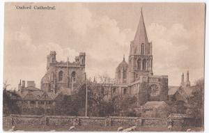 Oxford, Cathedral PPC Local PMK To Mrs Vivian, Stourvale, Dorset
