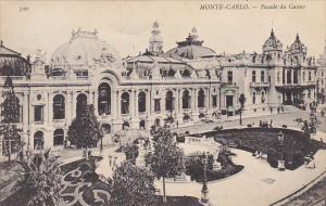 Monaco Monte Carlo Facade du Casino