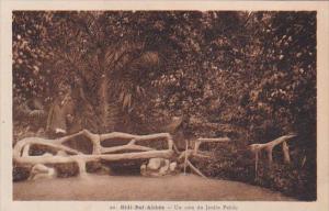 Algeria Sidi-Bel-Abbes Un coin du Jardin Public