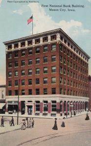 MASON CITY , Iowa, 1900-1910's; First National Bank Building