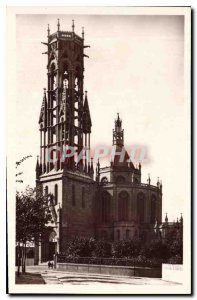 Old Postcard Le Havre church Ste Cecile outside
