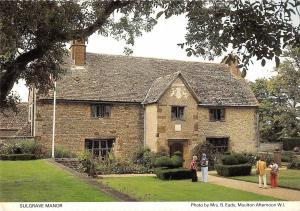 B100587 sulgrave manor  uk
