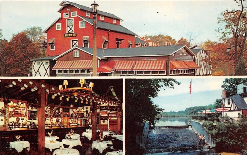 Spring Lake Heights New Jersey~Old Mill Inn~3 Views~Boys @ Dam~Dining Room~1950s