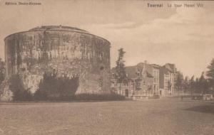 Tournai Le Tour Henri VIII Antique Postcard