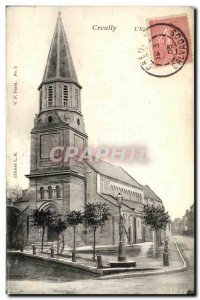 Postcard The Old Church Creully