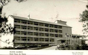 Portugal - Monte Gordo. Hotel Vasco da Gama.     RPPC