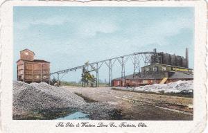 FOSTORIA, Ohio , 00-10s; The Ohio & Western Lime Co.