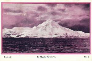 argentina, TIERRA DEL FUEGO, El Monte Sarmiento (1920s) Postcard