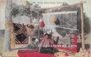 Navajo Indian Blanket Weaver Unused