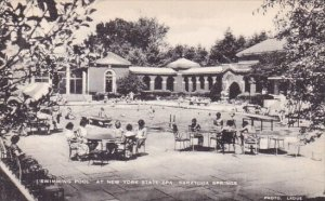 New York Saratoga Springs Swimming Pool At New York State Spa Artvue