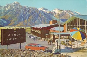 Continental-size GLENCOE MOTOR LODGE - MOUNT COOK NATIONAL PARK, NEW ZEALAND