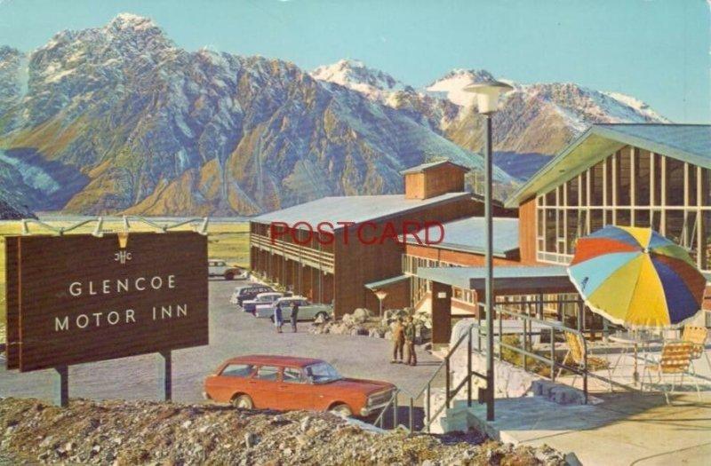Continental-size GLENCOE MOTOR LODGE - MOUNT COOK NATIONAL PARK, NEW ZEALAND