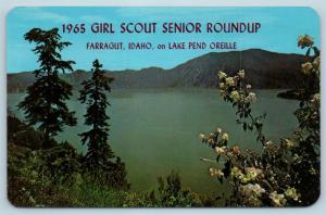 Postcard ID FARRAGUT 1965 GIRL SCOUT SENIOR ROUNDUP LAKE PEND OREILLE #2 N2
