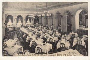 NEW YORY CITY , 1930s ; Castleholm SWedeish Restaurant