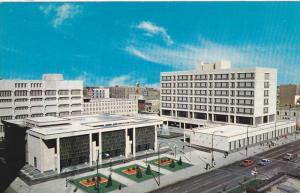 WINNIPEG , Manitoba , Canada , 50-60s : Civic Centre Complex