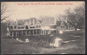 South Africa Postcard- Groote Schuur, Cecil Rhodes Residence, Cape Town RT1841