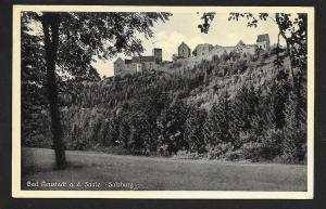 Salzburg Castle Bad Neustadt Bavaria Germany used c1940