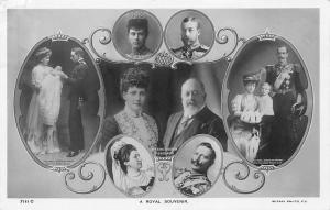A Royal Souvenir, King & Queen of England 1907