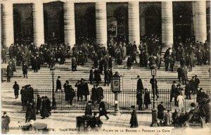 CPA PARIS 2e Palais de la Bourse. Pendant la Cote F. Fleury (573509)