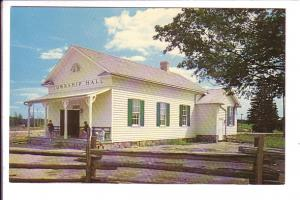Waterloo Township Hall, Doon Pioneer Village, Kitchener, Ontario, Canada