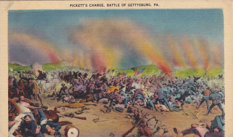 Pickett's Charge,  Battle of Gettysburg,  Pennsylvania,  30-40s