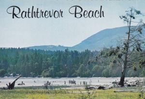 Ground Level View, People Enjoying Rathtrevor Beach, Georgia Strait, Vancouve...