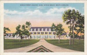 Ocean Forest Country Club, Myrtle Beach, South Carolina, 1910-1920s