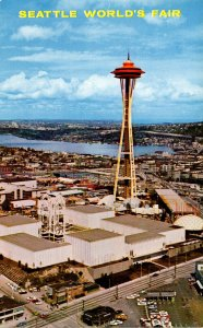 Washington Seattle World's Fair Aerial View Of The Fair